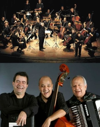 orquestra e trio