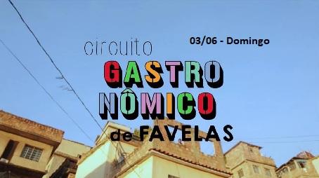 circuito gastronomico de favelas